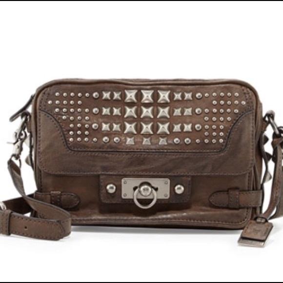 195b14ed2b8c Frye Handbags - Frye Cameron Studded Leather Crossbody Bag